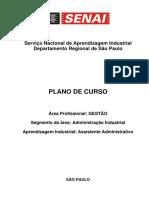 Plano de Curso - Cai Assistente Administrativo (1)