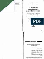 Gisela Untolglich. Capítulo III. Construcciones diagnósticas en la Infancia