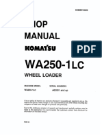 Shop Manual Komatsu WA250-1lc