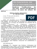 Indices Mayo 2014