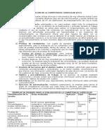 EVALUACION DE LA COMPETENCIA CURRICULARy +.doc