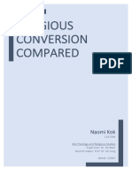 Religous Conversion Compared