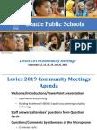 Levies 2019-Fall Community Meetings
