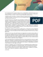 Actualizada Escazu Carta Abierta Español
