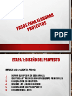 PASOS PARA ELABORAR PROYECTOS DE DESARROLLO.ppt
