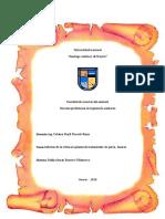 Informe de La PTAP Paria