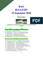 Bulletin 180915 (HTML Edition)