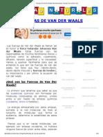 Fuerzas de Van Der Waals Intermoleculares. Fuerzas de London Facil