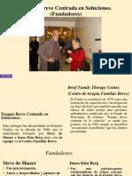Terapia Breve Centrada en Soluciones Diapositiva.