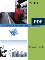 Edifice Placement Solutions Profile