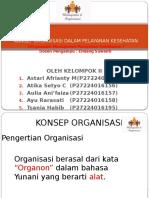 KONSEP ORGANISASI DALAM PELAYANAN KESEHATAN.pptx