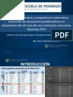 Sustentacion Doctorado 2016