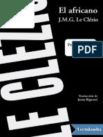 El africano - J. M. G. Le Clezio.pdf