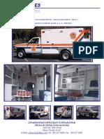 Especificaciones Tecnicas Ambulancia Tipo 1 Dodge Ram 4x4 Diesel