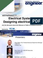 Designing electrical room