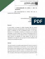 Wagbou, M. Colonización y descolonización en África y Asia en perspectivas comparadas