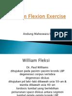 William Flexion Exercise.pptx