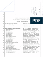 International DTO - Chavez-Gastelum Et Al INDICTMENT