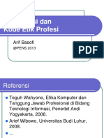 T07 - Organisasi Dan Kode Etik Profesi(1)