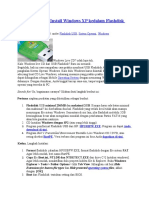 Panduan Praktis Install Windows XP Kedalam Flashdisk USB