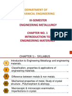 Engineering Metallurgy Chapter 1