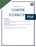 Practica Corte Directo