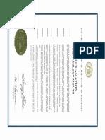 2009 Proclamation