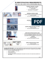 2014 Laminated ID Requirements