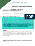 The Study of Secondary Metabolic of Ferulago Carduchorum Boiss Hausskn