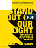 Stand Out of Our Light