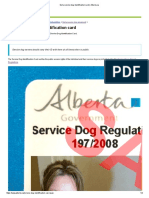 Get a Service Dog Identification Card _ Alberta