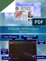 GA VIC Laptop Familiarization