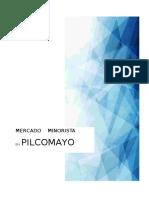 Mercado Minorista en Pilcomayo.
