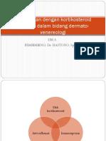PENGBATAN DENGAN KORTIKOSTEROID SISTEMIK DERMATO-VENEROLOGI.ppt