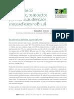 A Atual Crise Do Capitalismo Os Aspectos PolíTicos Da Austeridade e Seus Reflexos No Brasil