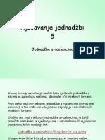 5-Rjesavanje-jednadzbi-s-razlomcima.pps