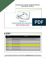 ISO 9001.2015 Modulo 4