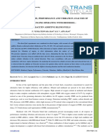 HEAT RELEASE RATE, PERFORMANCE AND VIBRATION ANALYSIS OF DIESEL ENGINE OPERATING WITH BIODIESEL - TRIACETIN ADDITIVE BLEND FUELS