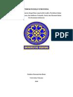Perekonomian Indonesia Sebagai Ilmu Yang Berdiri Sendiri, Periodisasi Dalam Perekonomian Indonesia, Dan Indikator Geografis, Sosial, Dan Ekonomi Dalam Perekonomian Indonesia
