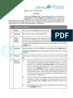 Term Sheet Equity