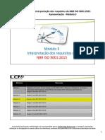 ISO 9001.2015 Modulo 3