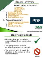 Chapter 1a - OSHA Electricity Safety