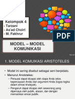 Model Model Komunikasi 1