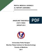 Genomic Lab Report