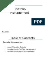 Portfolio Management - Classroom
