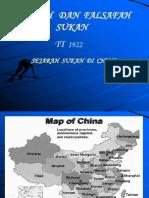 Sejarah Sukan Di China