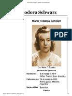 Marta Teodora Schwarz - Wikipedia, La Enciclopedia Libre