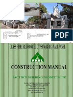 GFRG panels manual