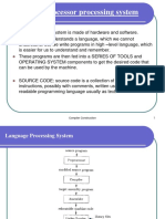 Compiler Processesdetails