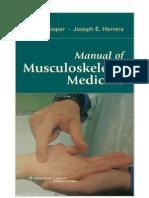Manual de Medicina Musculo Esquelética